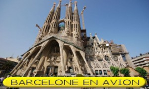 BARCELONE AVION