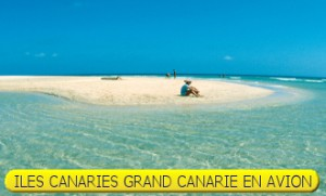 ILES CANARIES GRAND CANARIE EN AVION