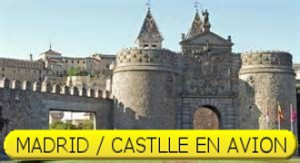 MADRID / CASTILLE EN AVION